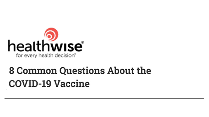 8 Questions About COVID Vaccine