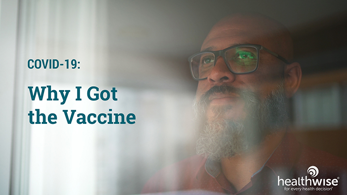 Watch Why I Got the Vaccine Video